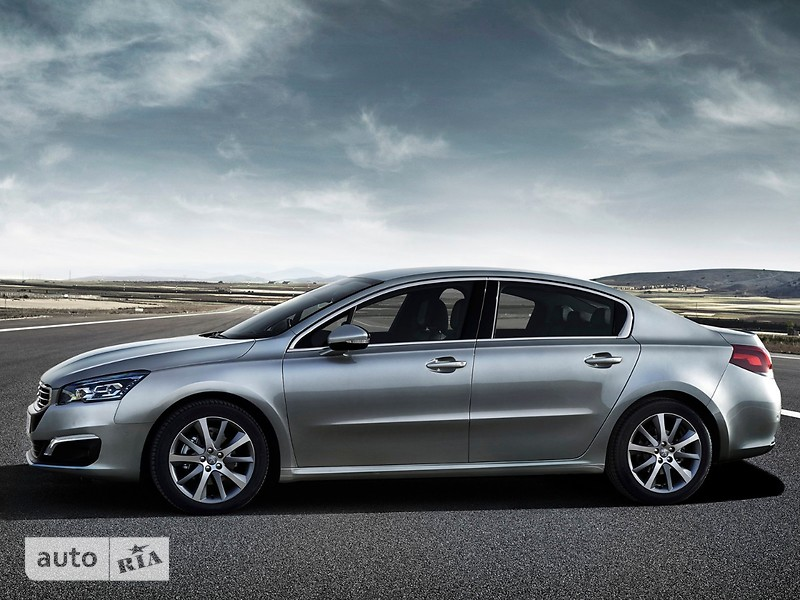 Peugeot 508 New 2.0 BlueHDi AT (180 л.с.) Start/Stop Allure