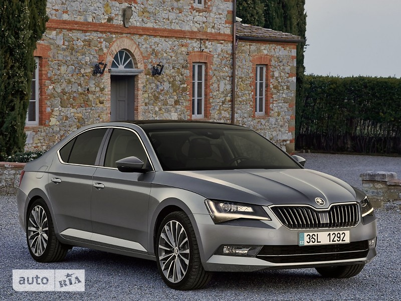 Skoda Superb New 2.0 TDI АТ (190 л.с.) CR  Ambition