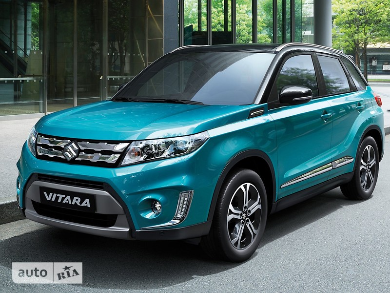Suzuki Vitara 1.6 AT (117 л.с.) 4WD GL+