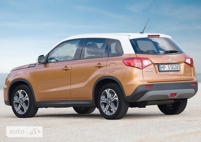 Suzuki Vitara 1.6 AT (117 л.с.) 4WD Urban GL+