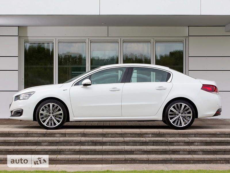 Peugeot 508 New 2.0 BlueHDi AT (180 л.с.) Start/Stop Allure