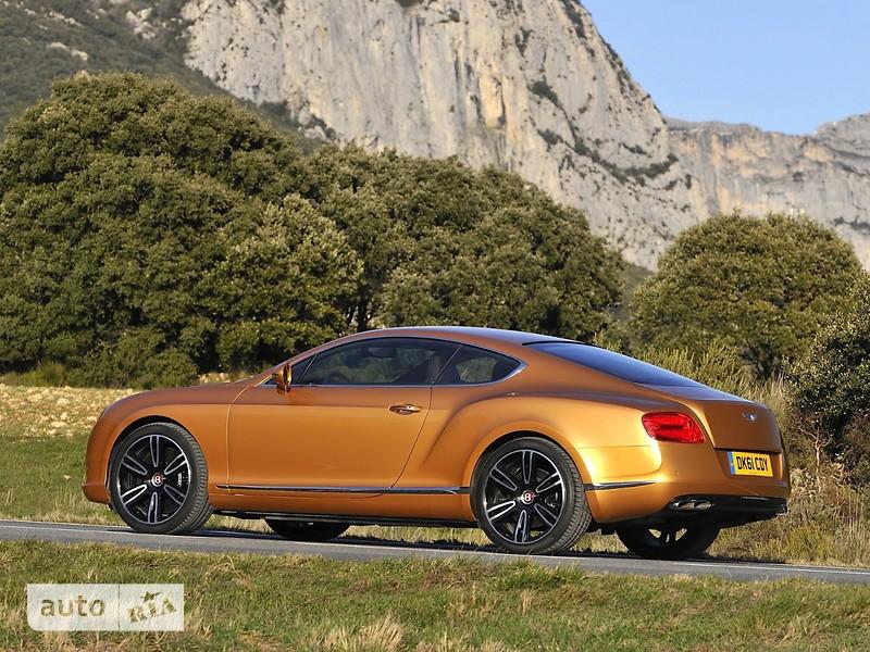 Bentley Continental GT 4.0i АТ (500 л.с.) 4WD