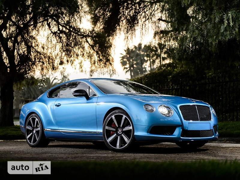 Bentley Continental GT 4.0i АТ (500 л.с.) 4WD