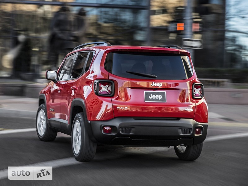 Jeep Renegade 2.4 АТ (180 л.с.) Trailhawk