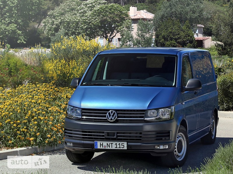 Volkswagen T6 (Transporter) пасс. 2.0 l TDI MT (103 kW) 4motion LR ND