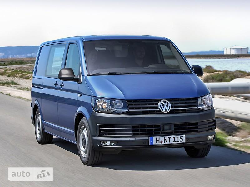 Volkswagen T6 (Transporter) пасс. 2.0TDI DSG (132 kW) 4motion LR ND