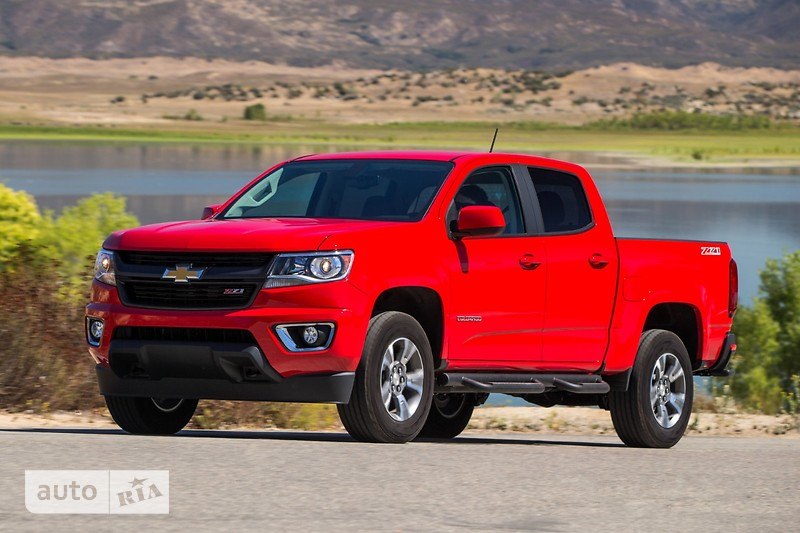 Chevrolet Colorado 2.5 АТ (200 л.с.) 4WD  LT