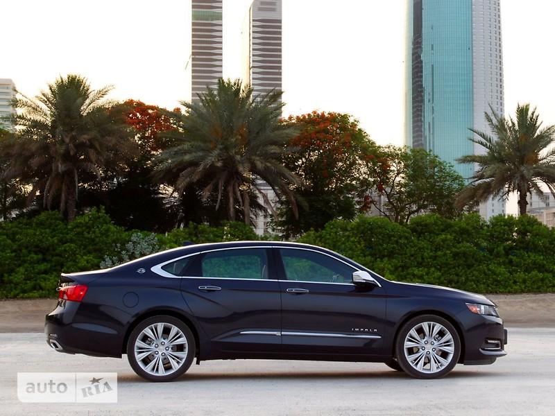 Chevrolet Impala 3.6i АТ (305 л.с.)  2LTZ