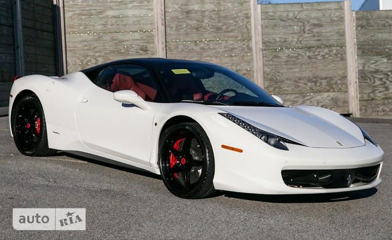 Ferrari 458 Italia 4.5 AMT (570 л.с.)