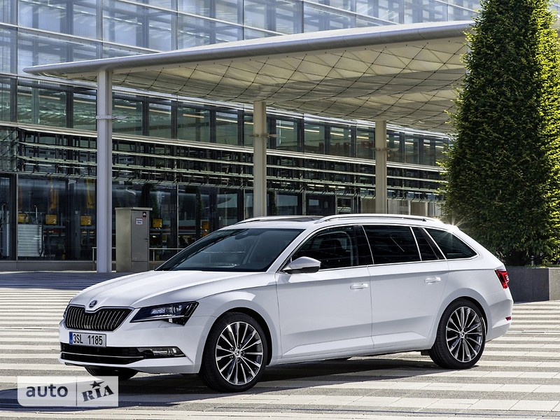 Skoda Superb New 2.0 TSI АT (220 л.с.) Style