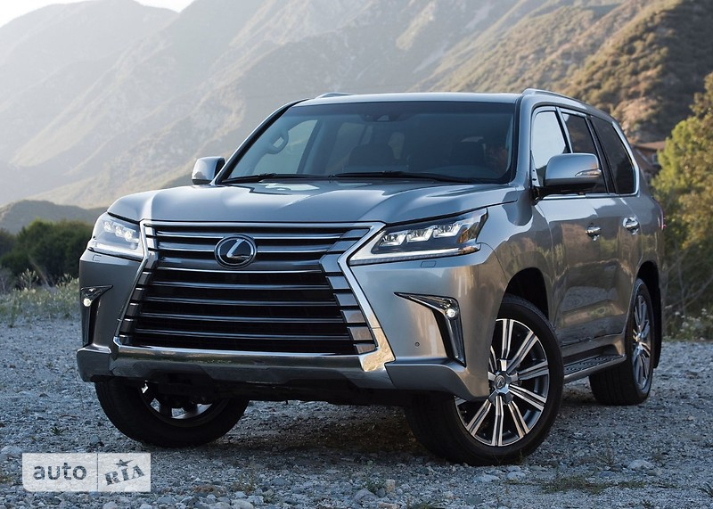 Lexus LX 570 AT (367 л.с.) Luxury+