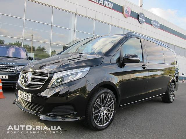 Mercedes-Benz V-Class V 250d AT (190 л.с.) Long VKL