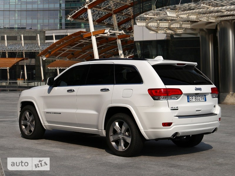 Jeep Grand Cherokee 6.2 TrackHawk AT (707 л.с.) AWD