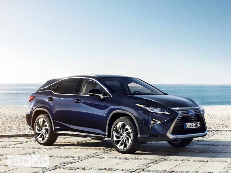 Lexus RX New 350 AT (300 л.с.) AWD Luxury