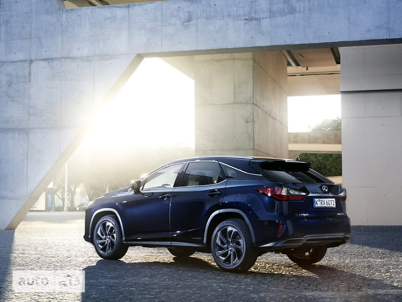Lexus RX New 450h AT (313 л.с.) AWD F Sport