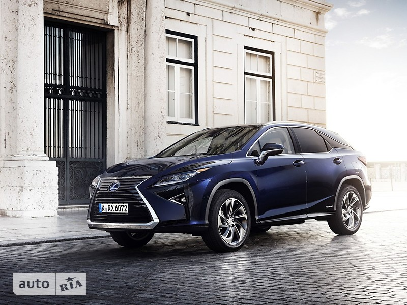 Lexus RX New 450h AT (262 л.с.) AWD Executive
