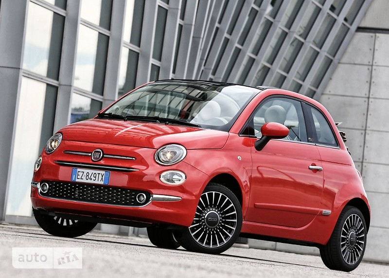 Fiat 500 New 1.2 AT (69 л.с.) Lounge