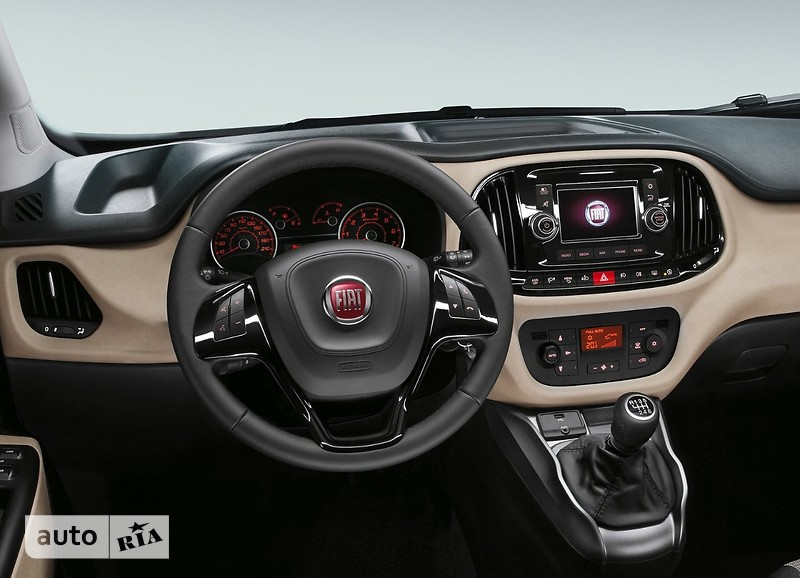 Fiat Doblo Panorama New 1.4 MT (95 л.с.) Pop