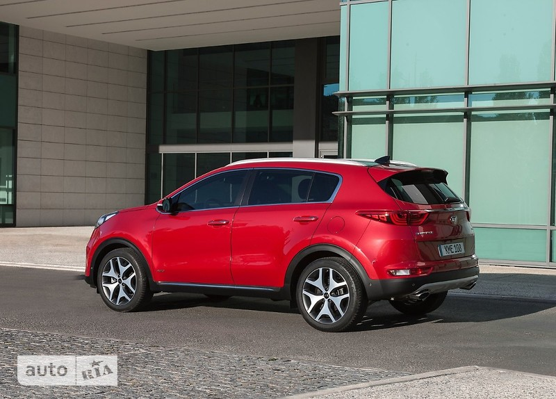 Kia Sportage 2.0D AT (185 л.с.) 4WD GT Line