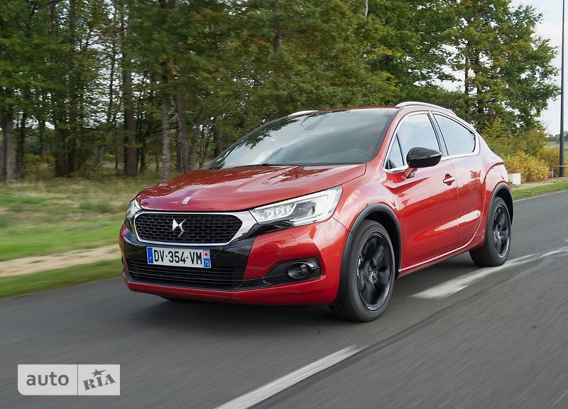 Citroen DS4 Crossback 2.0 BlueHD АТ (180 л.с.) Start/Stop  Sport Chic