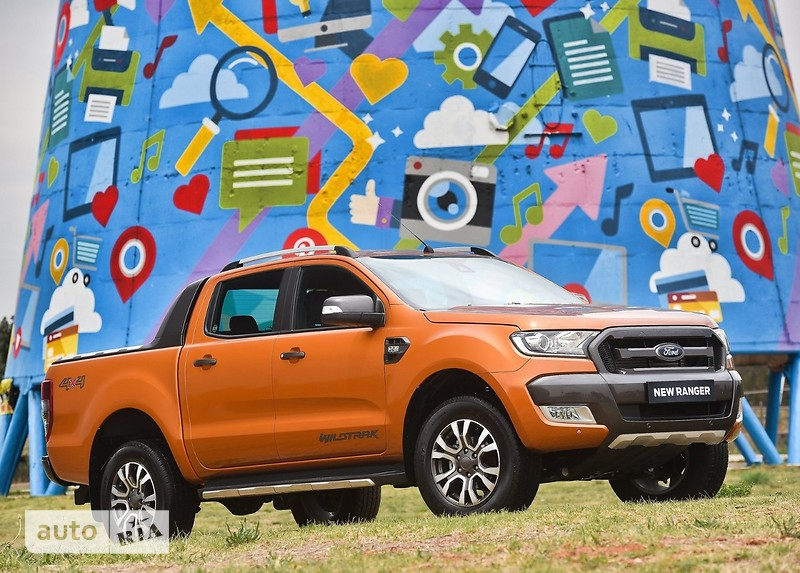 Ford Ranger 2.2D АТ (160 л.с.) 4WD (Двойная кабина) Limited Black Edition