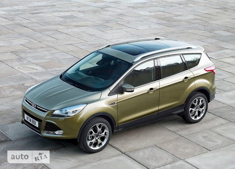 Ford Kuga 2.0D AT (180 л.с.) 4WD Titanium