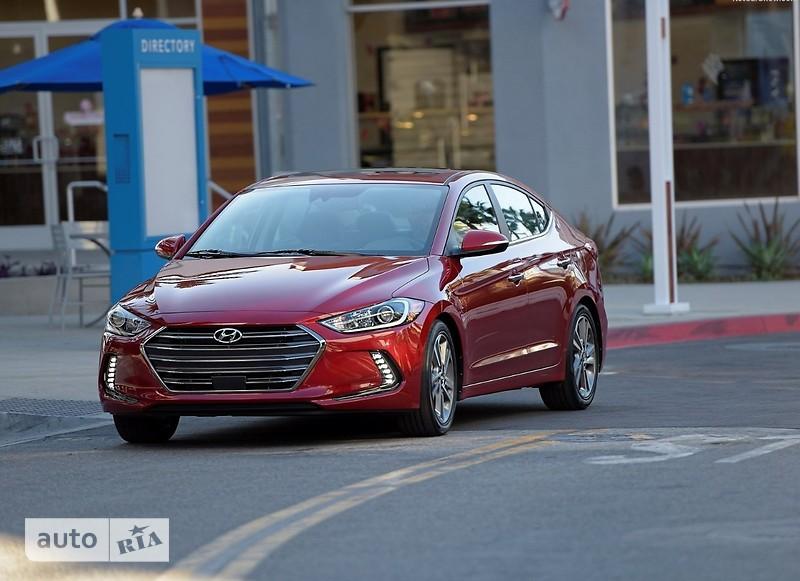 Hyundai Elantra AD 1.6 АT (127.5 л.с.) Classic