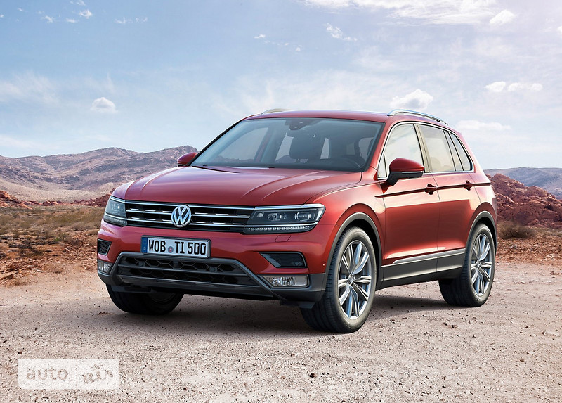 Volkswagen Tiguan New 2.0 TDI АT (150 л.с.) 4Мotion Highline
