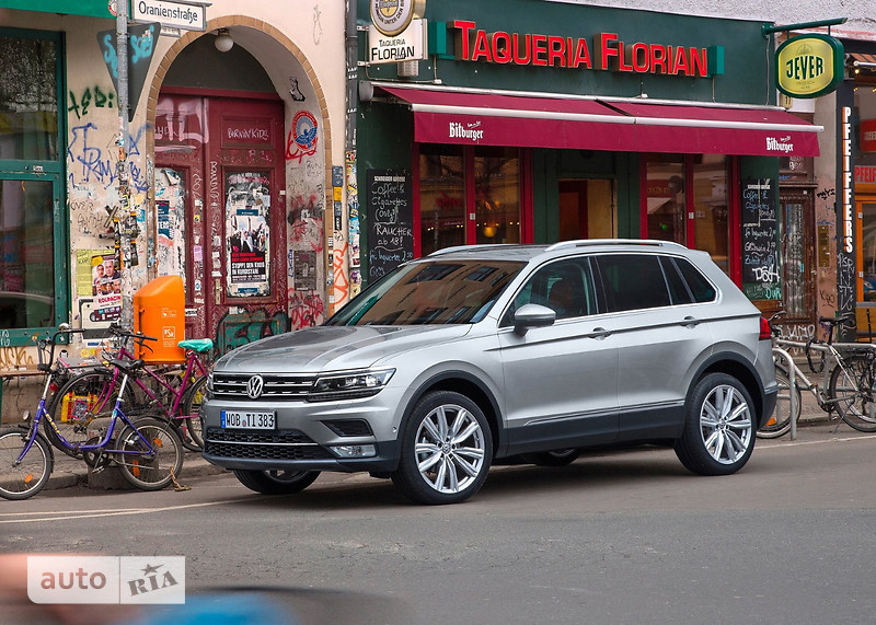 Volkswagen Tiguan New 2.0 TDI АT (190 л.с.) 4Мotion Highline