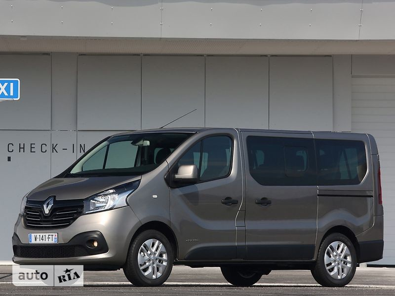 Renault Trafic пасс. 1.6D MT (140 л.с.) L2H1 Combi