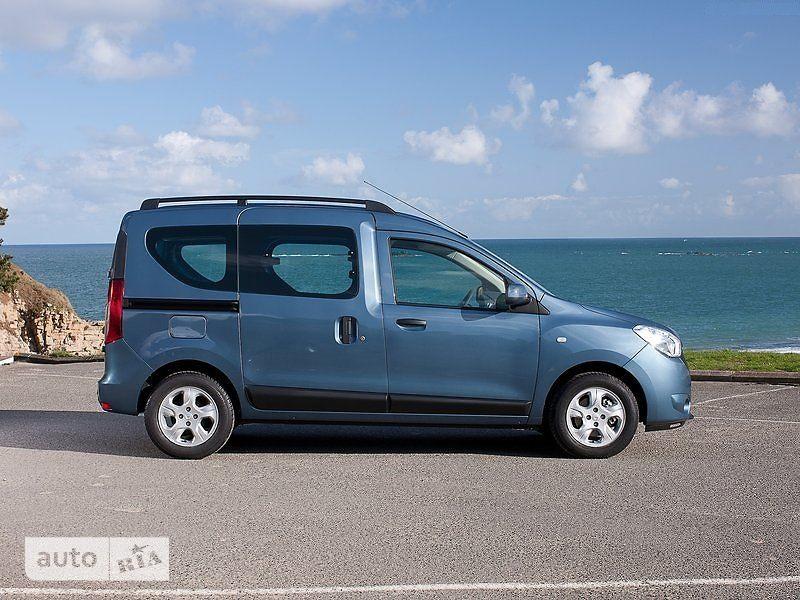 Renault Dokker пасс. 1.6 МТ (84 л.с.) Authentique