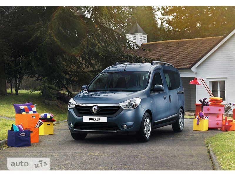 Renault Dokker пасс. 1.5D МТ (90 л.с.) Authentique