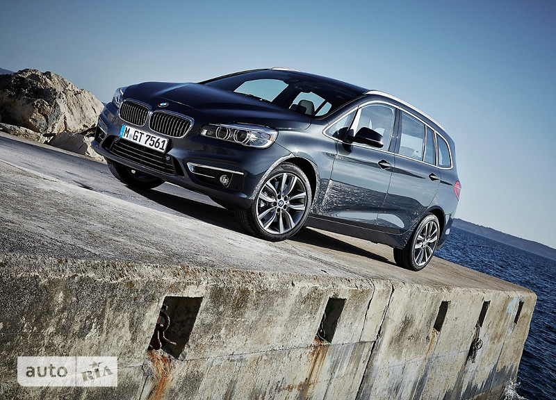 BMW 2 Series Gran Tourer 218d MT (150 л.с.) xDrive base
