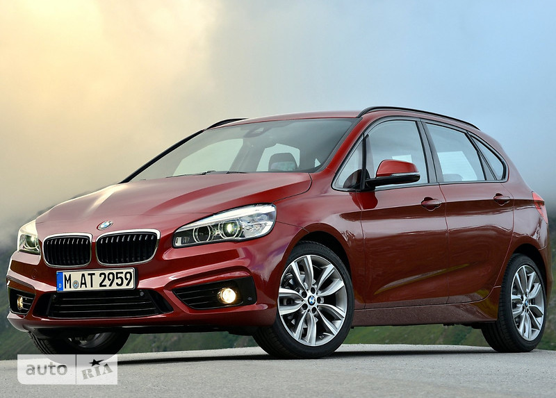 BMW 2 Series  Active Tourer 216d MT (116 л.с.) base