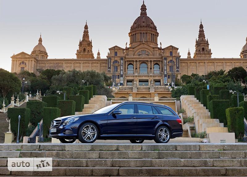Mercedes-Benz E-Class E 350d AT (258 л.с.)