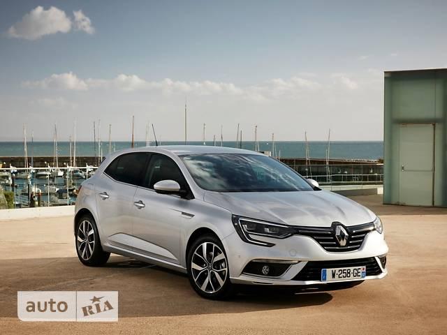 Renault Megane New 1.6 CVT (115 л.с.) Zen