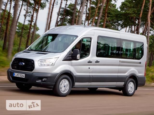 Ford Transit пасс. Minibus R410L3H2 (125 л.с.) LWB Trend