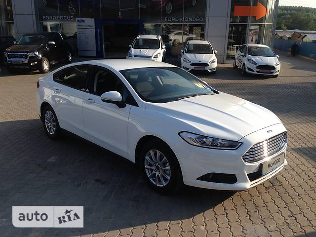 Ford Mondeo New 1.5 Ecoboost AT (160 л.с.) Titanium