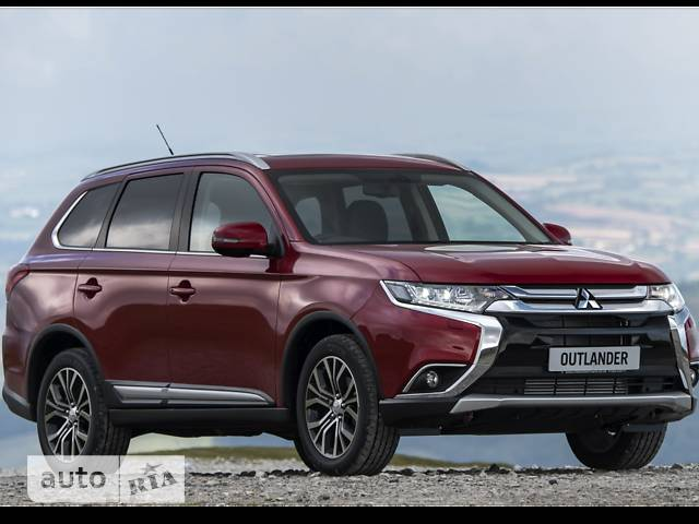 Mitsubishi Outlander PHEV 2.0i AT (221 л.с.) Hybrid 4WD