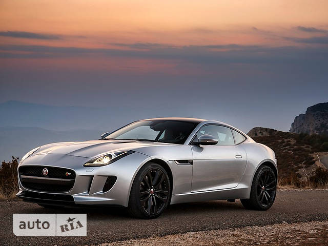 Jaguar F-Type 3.0 МТ (380 л.с.) S