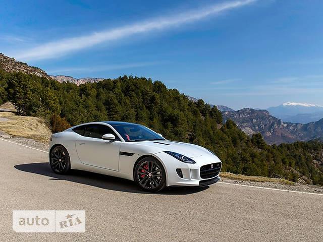 Jaguar F-Type 3.0 МТ (380 л.с.) British Design Edition