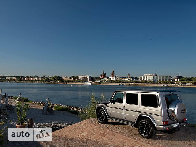 Mercedes-Benz G-Class Mercedes-AMG G 63 AT (571 л.с.)