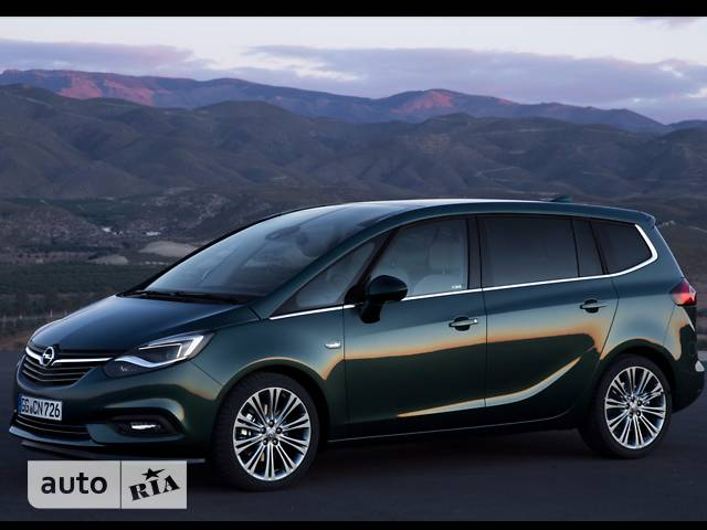 Opel Zafira 1.4 AT (140 л.с.) Innovation