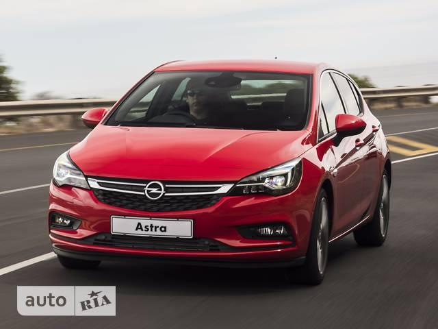 Opel Astra K 1.0 MT (105 л.с.) Start/Stop Selection