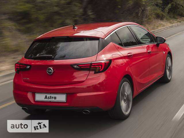 Opel Astra K 1.6D AT (136 л.с.) Start/Stop Innovation