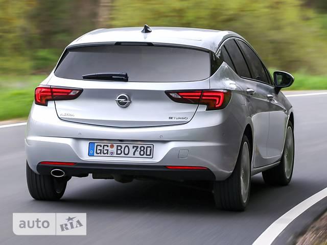 Opel Astra K 1.4 AT (150 л.с.) Start/Stop Dynamic