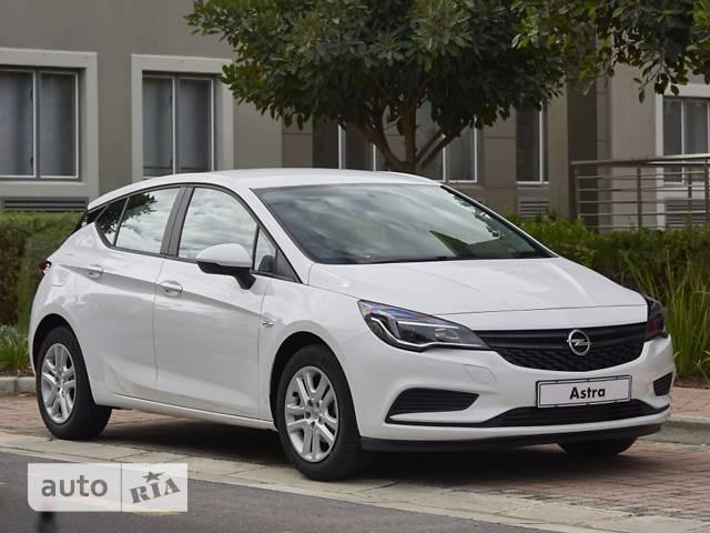 Opel Astra K 1.4 MT (125 л.с.) Start/Stop Enjoy