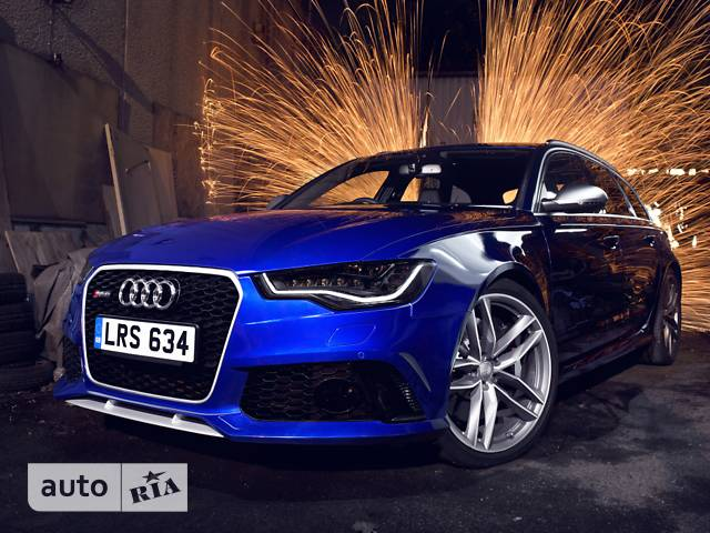 Audi RS6 4.0 TFSI S-tronic (560 л.с.)  Quattro