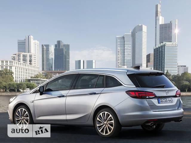 Opel Astra K 1.4 MT (125 л.с.)  Enjoy