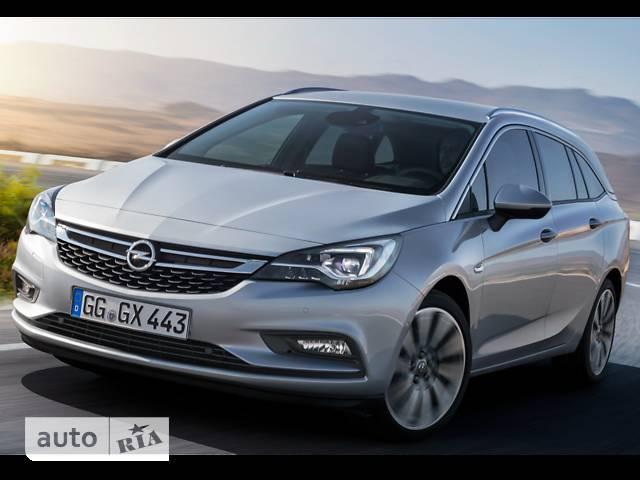 Opel Astra K 1.6D MT (110 л.с.) Start/Stop EcoFlex Selection